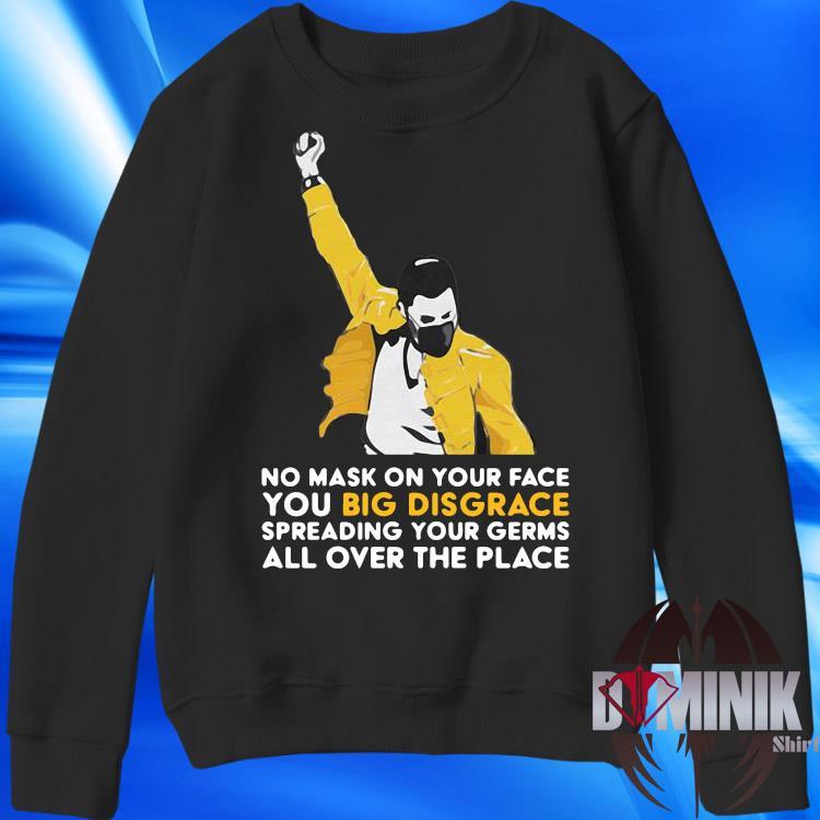 Details about  /lockdown t shirt no mask big disgrace