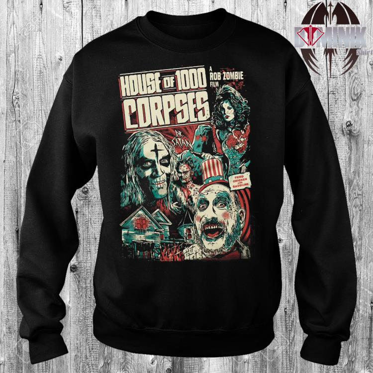 House Of 1000 Corpses A Rob Zombie Film Shirt sweater