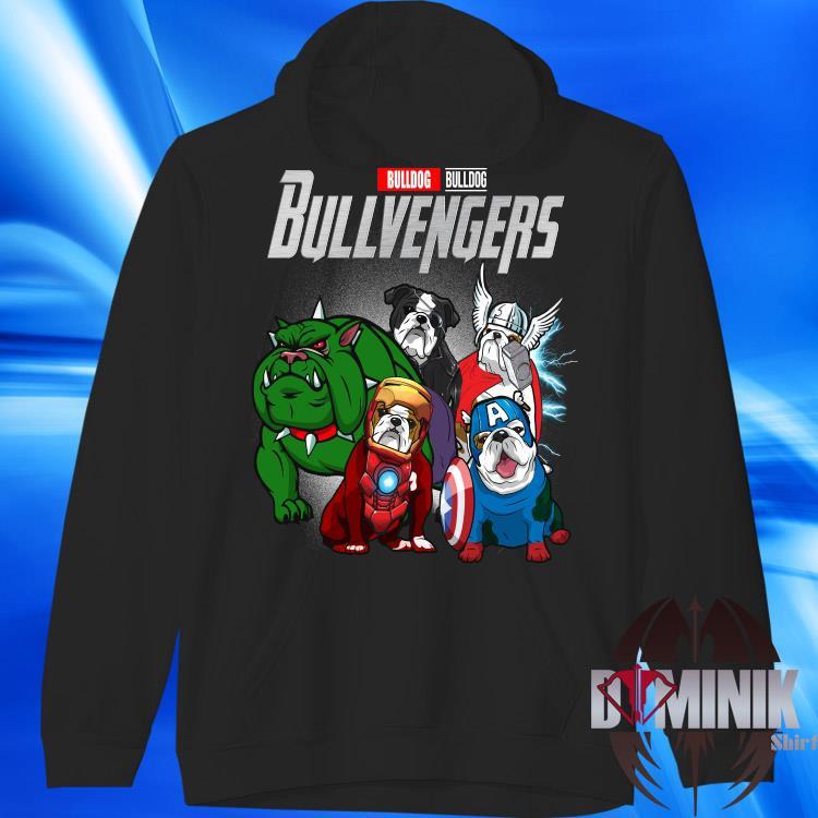 Marvel Bulldog Bullvengers Shirt hoodie