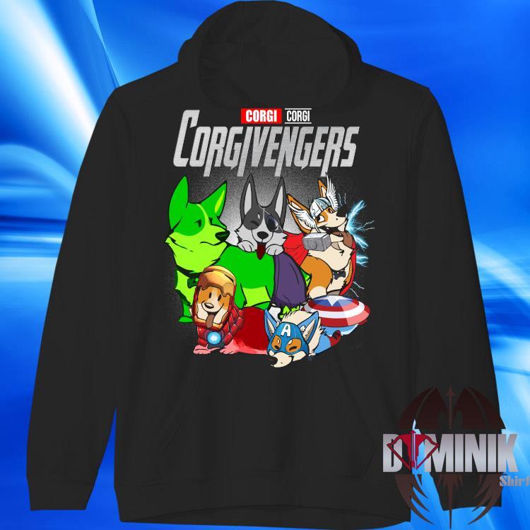 Marvel Corgi Corgivengers Shirt hoodie