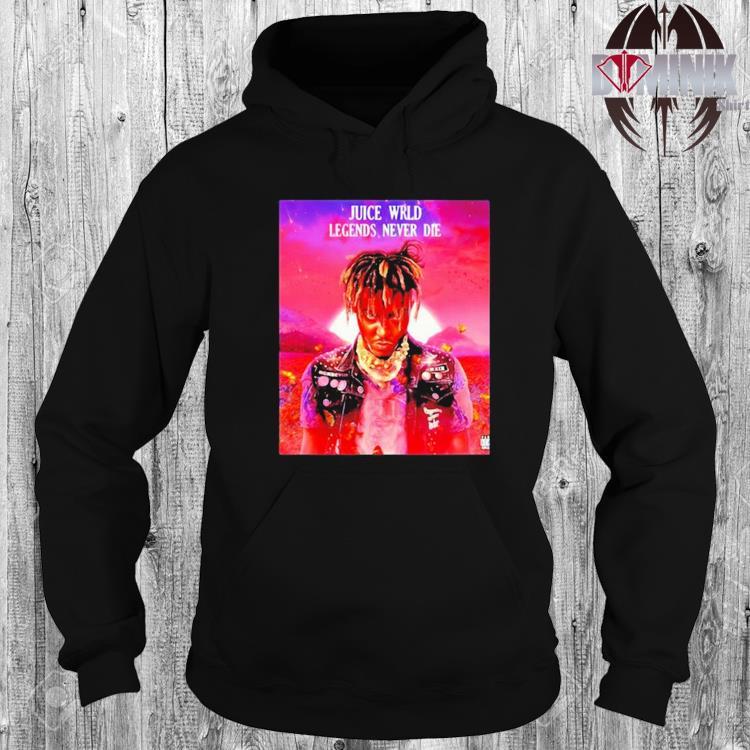 Juice wrld legends never die hoodie